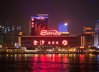 Sands by night