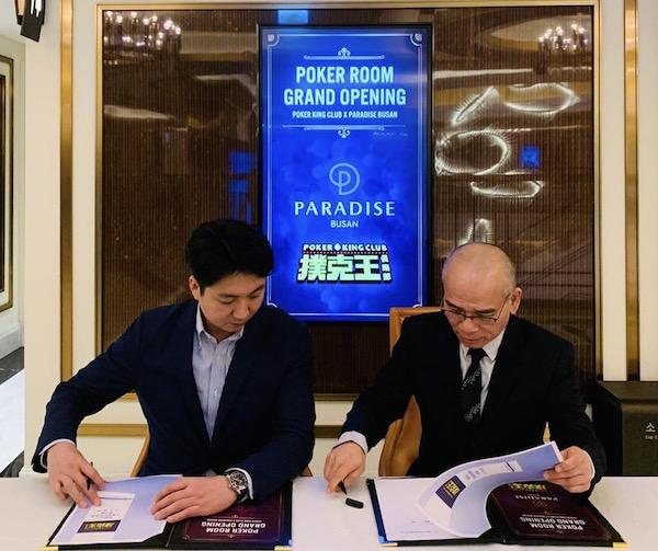Poker Kings Club signing