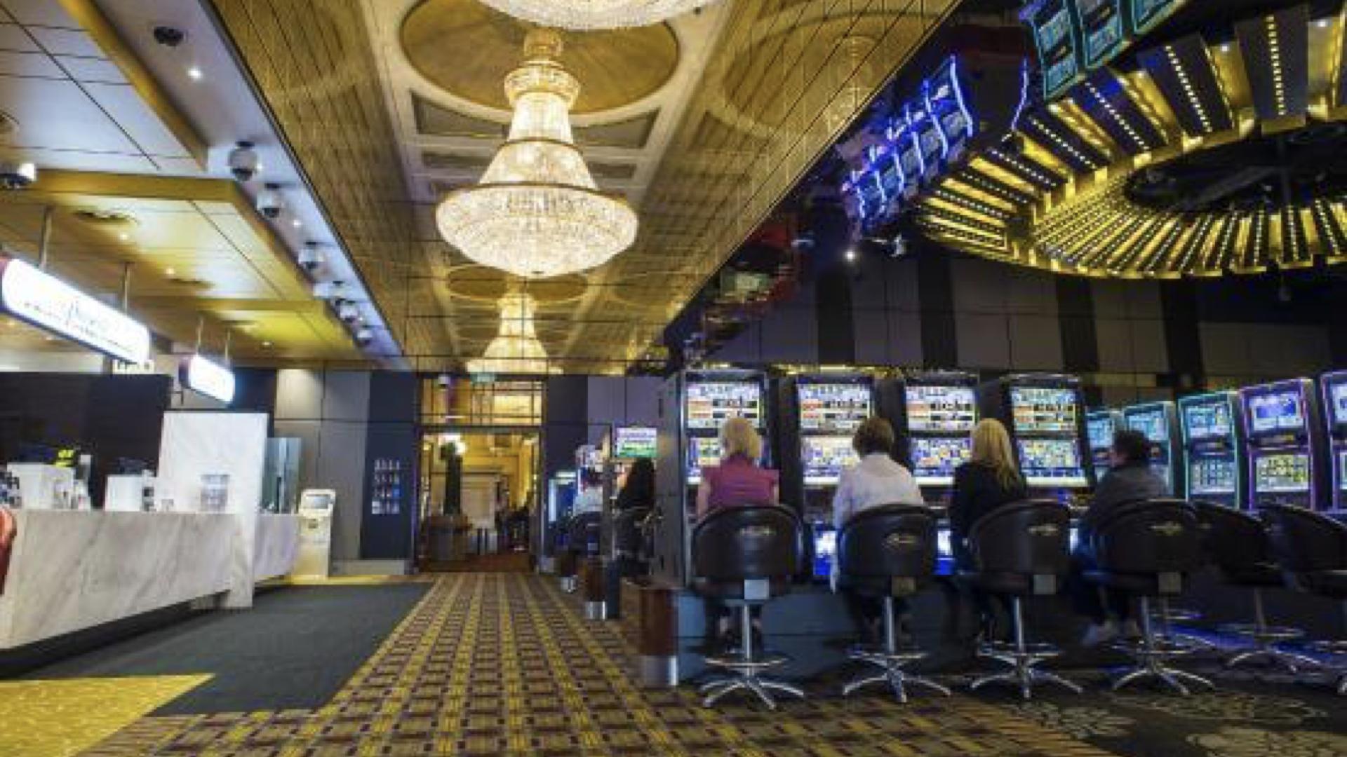 Blackjack betting table