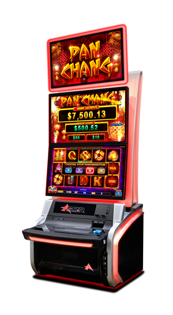 AINSWORTH DUALL TOPPER GAMING MACHINE