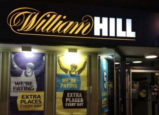 Caesars offers to buy William Hill for GBP2.9b