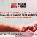 AGB Webinar Series: Aquiring and Retaining iGaming Customers