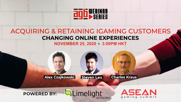 AGB Webinar - Acquiring and Retaining iGaming Customers
