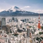 Tokyo-Fuji-cityscape