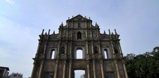 Macau St Paul Ruins