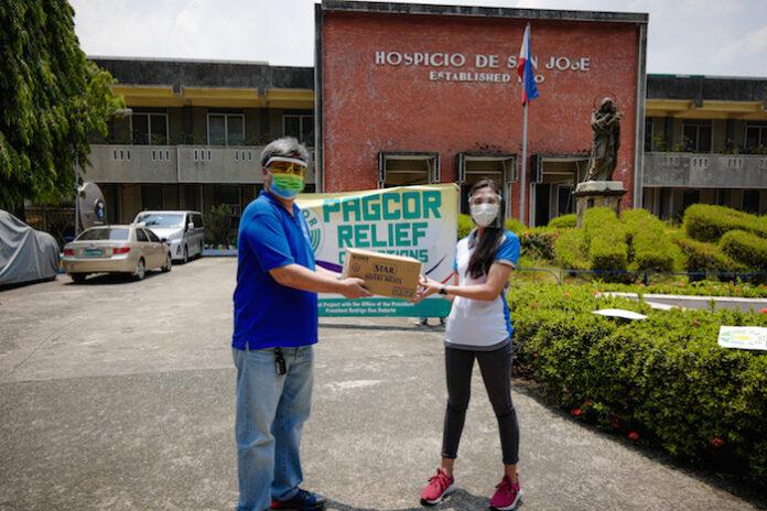 PAGCOR aids Manila orphanage
