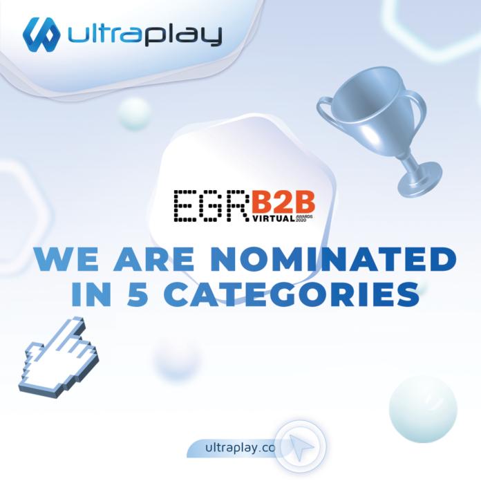 Ultraplay, EGR B2b awards