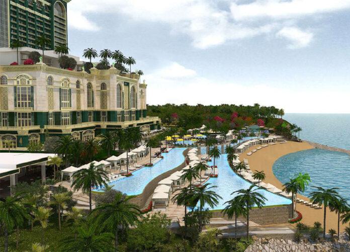 Emerald-Bay, Cebu, Philippines, pool render