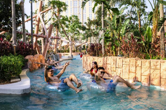 Macau Studio City water park