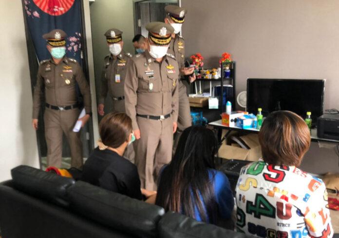 Thailand police Bangkok raid