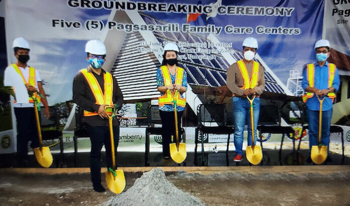 Bloomberry resorts, Foundation Ground breaking ceremony, philippines