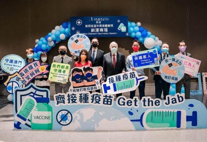 Melco Resorts, staff, vaccinated