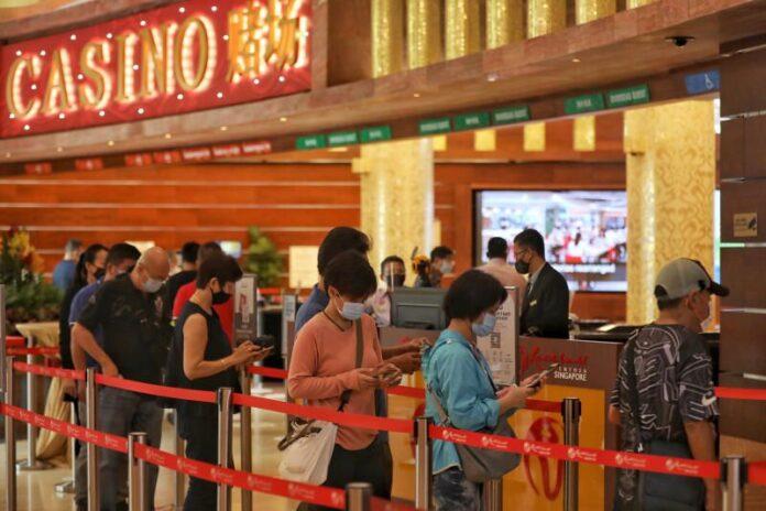 resorts world sentosa, casino, singapore