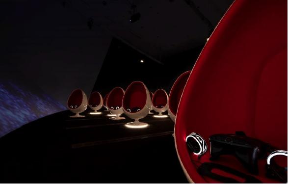 Marina Bay Sands, virtual art gallery