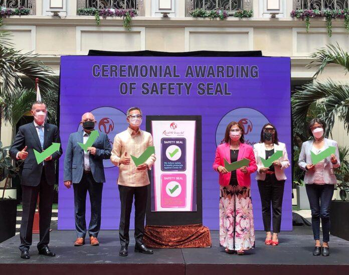 RWManila-safey seal