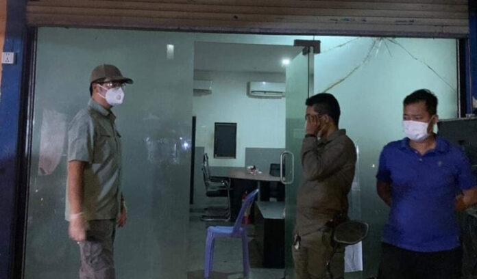 phnom penh, police crackdown, illegal gambling, cambodia