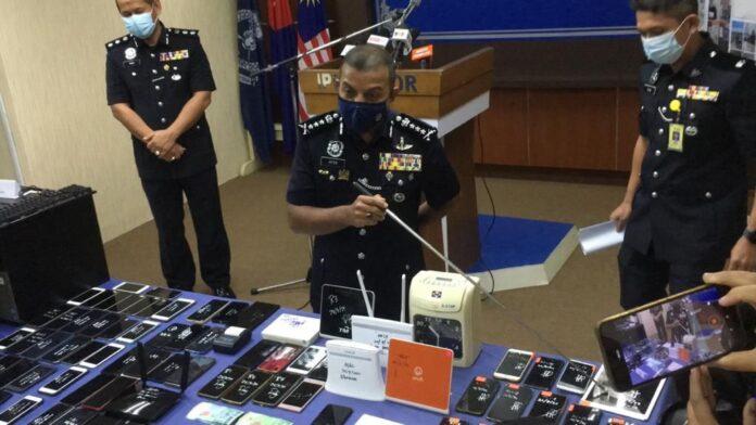 Johor raid