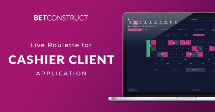 Betconstruct, live roulette