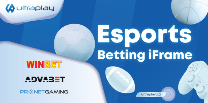Ultraplay, esports betting, iframe