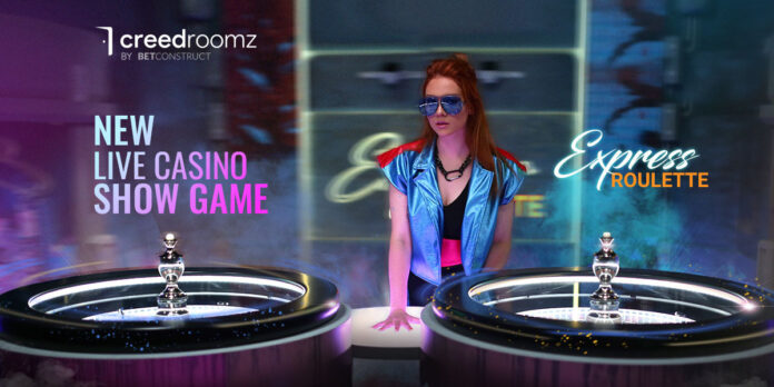 Betconstruct, express roulette, live casino, creedroomz