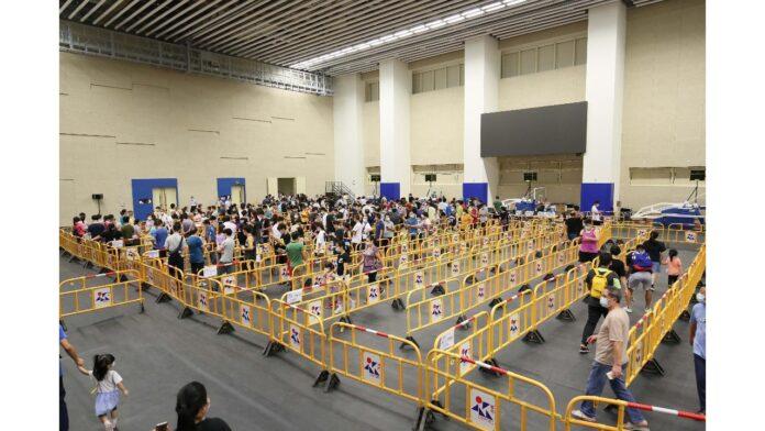Macau mass testing