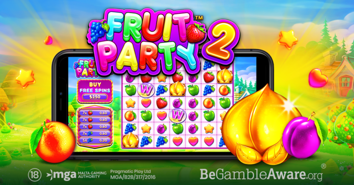 pragmatic play, fruit party, igaming