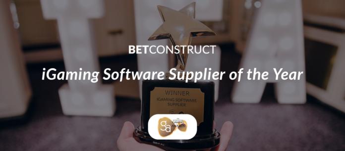 Betconstruct, iGaming software supplier, IGA Awards