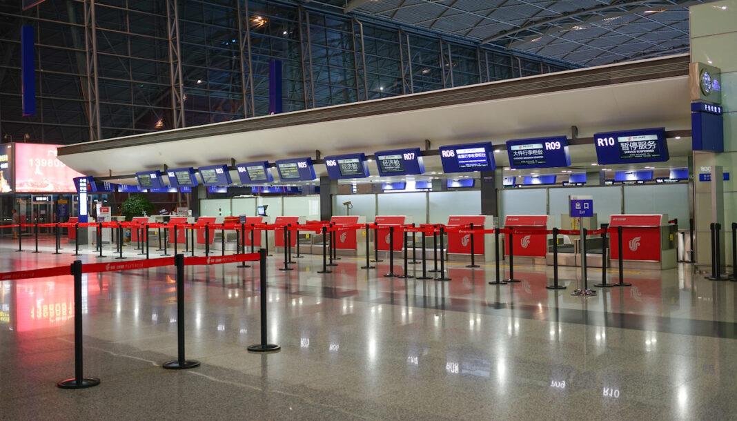 China Crackdown on international travel plans