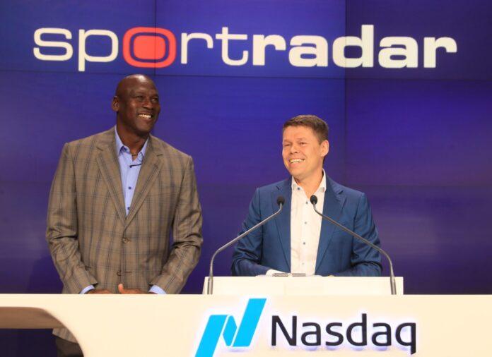 Michael Jordan, stake, sportradar, adviser