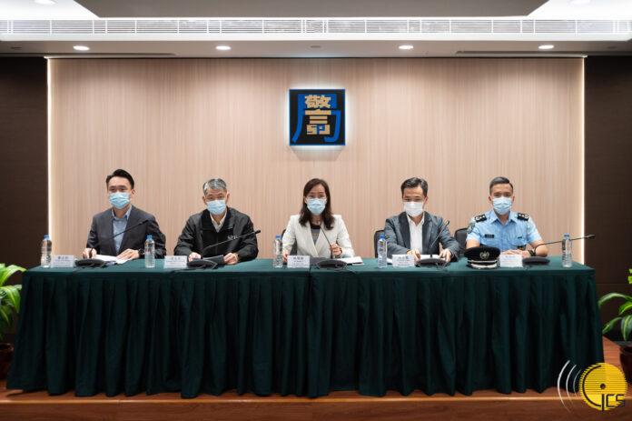 Macau, Health Press conference