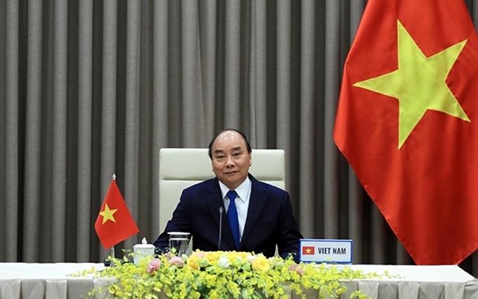 Vietnam president, Nguyen Xuan Phuc