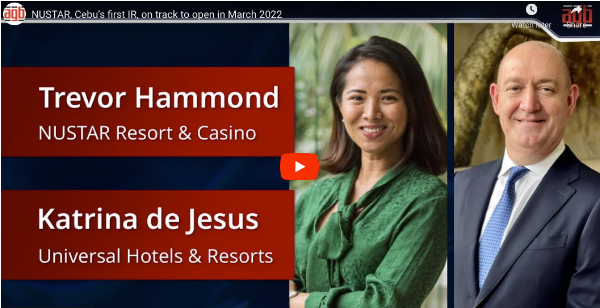 Your Daily Asia Gaming eBrief: NuStar, Cebu's first IR, on track to open in March 2022