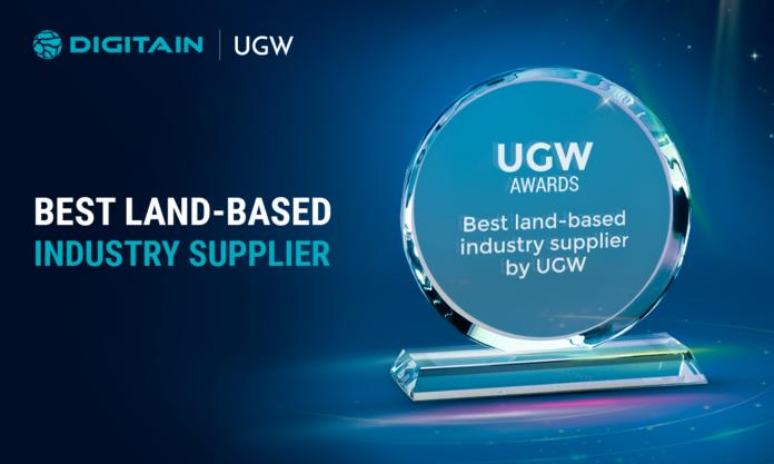 Digitain, awards, land based industry supplier